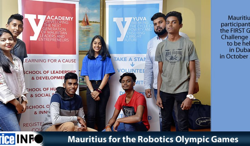 Mauritius for the Robotics Olympic Games