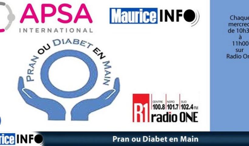 Pran ou diabet en main