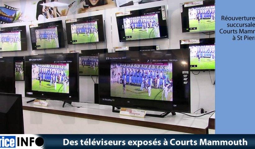 Réouverture de la succursale Courts Mammouth à St Pierre