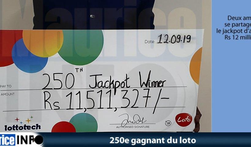 250e gagnant du loto