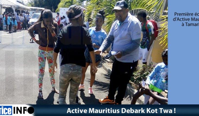 Active Mauritius Debark Kot Twa
