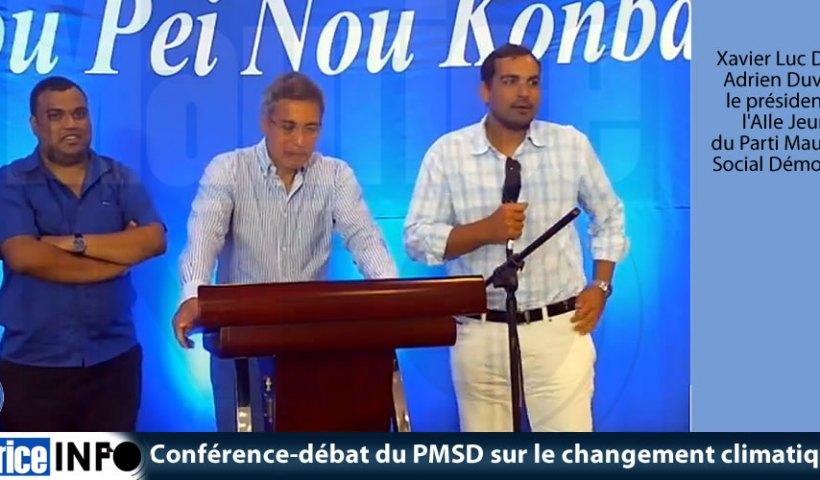 Conférence-débat du PMSD sur le changement climatique