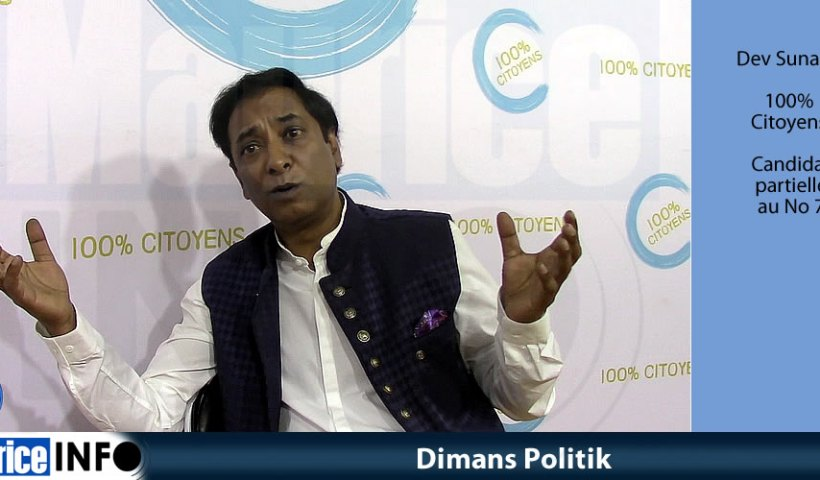 Dimans Politik de Dev Sunassy