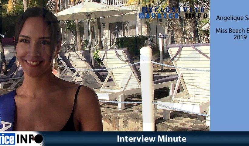 Interview Minute Angelique Sanson