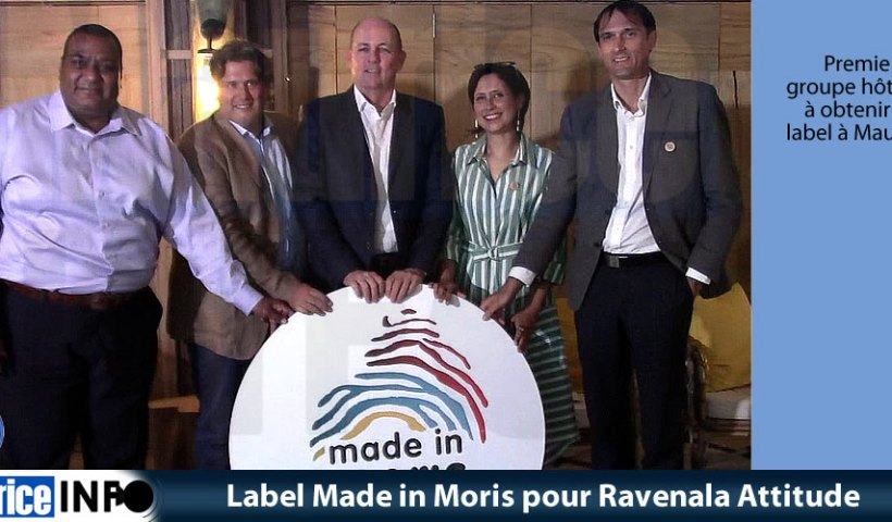 Label Made in Moris pour Ravenala Attitude