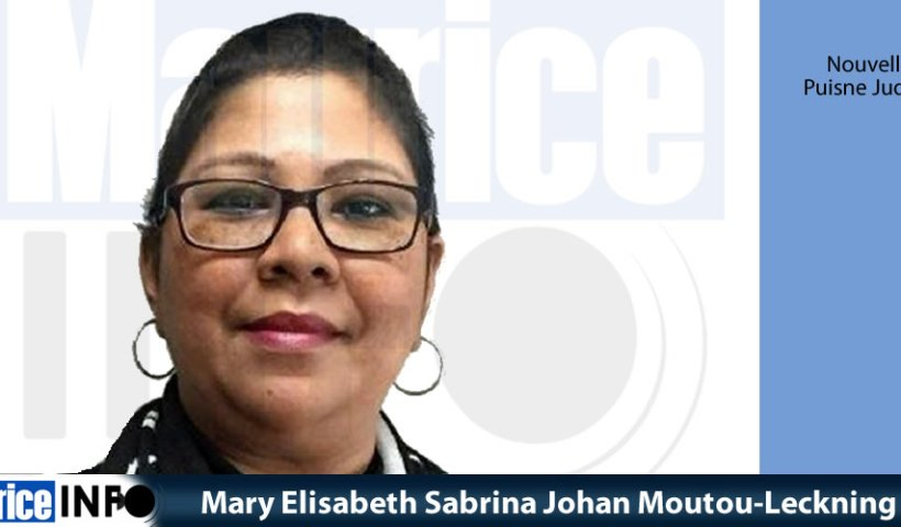 Mary Elisabeth Sabrina Johan Moutou-Leckning