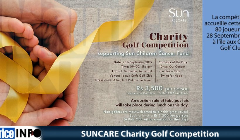 SUNCARE Charity Golf Competition