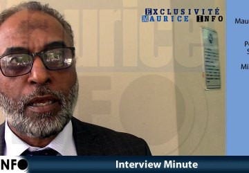 Interview Minute de Maubarakahmad Boodhun