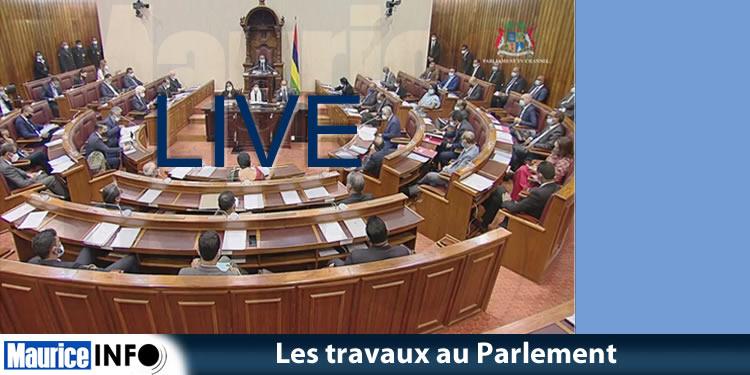 Séance parlementaire du 20 avril 2021 en Live