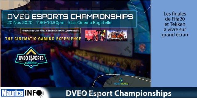 DVEO Esport Championships le 20.11.2020