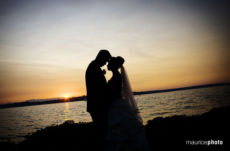 Wedding pictures at the Woodmark Hotel