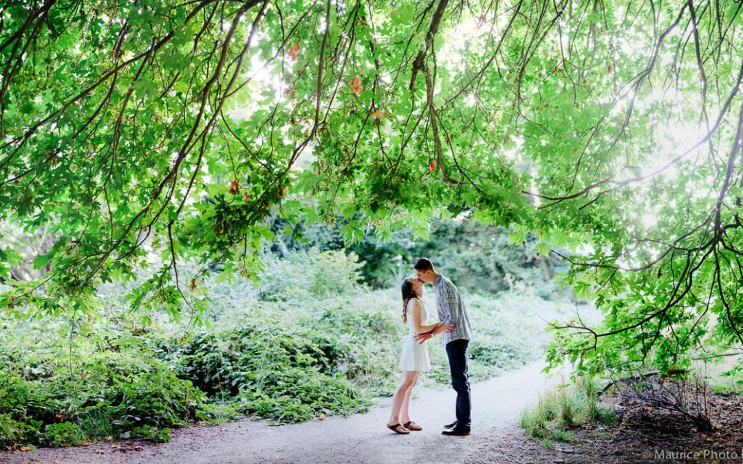 Katie & Chris – Sunset at Discovery Park
