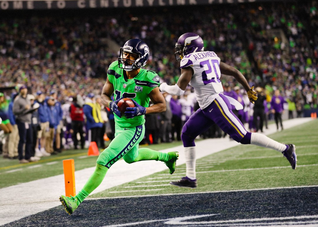 Seahawks WR Tyler Lockett.