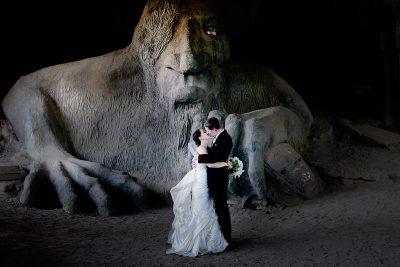 Fremont-Troll-Wedding-Photos
