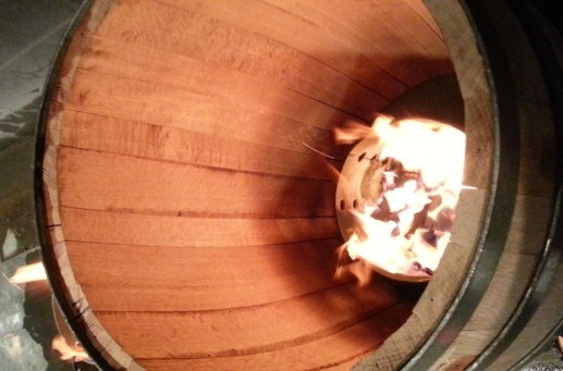 Oak Barrel Making