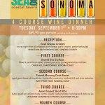 Sonoma Wine Dinner
