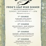 Organic Wine Dinner