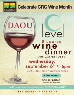 Daou Wine Dinner