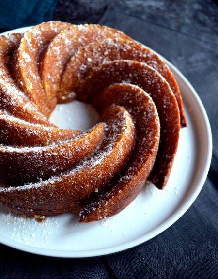 Bundt cake citron passion