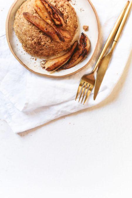 Bowl cake à la poire