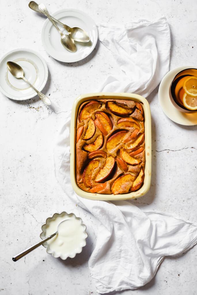 Gâteau aux fruits d'été Weight Watchers
