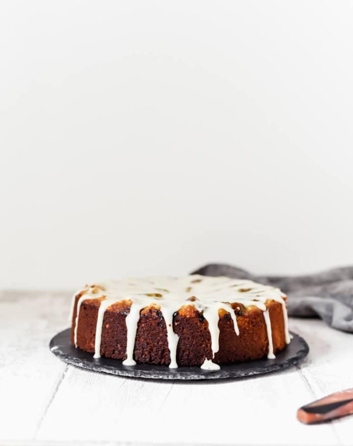 Gâteau vegan aux amandes sans gluten