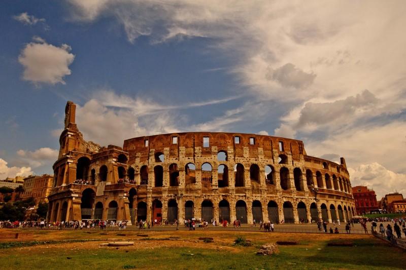 Flavian Amphitheatre Sunset