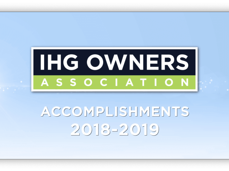 IHGOA Achievements