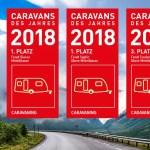 """Fendt conquista 3 nuovi primati nel sondaggio """"Caravan dell'Anno 2018"""" di Motor Presse Stuttgart"""