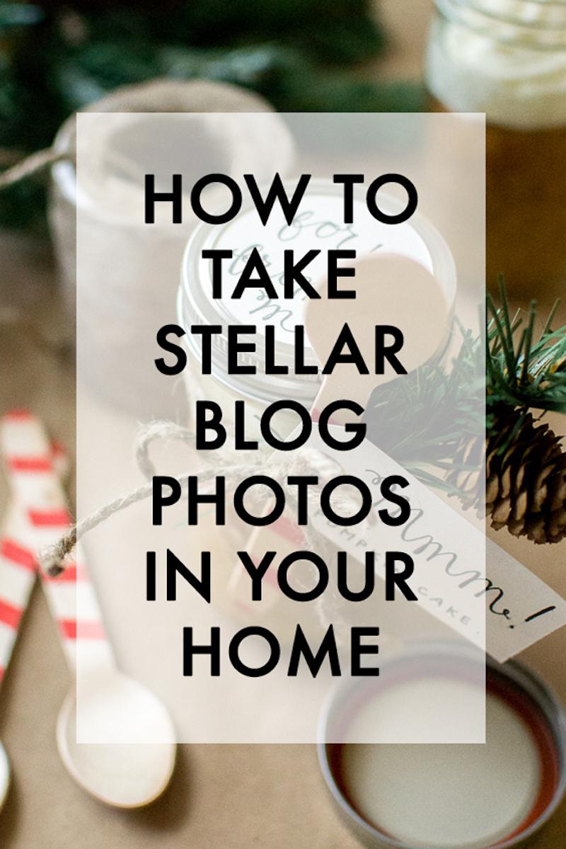 take great blog photos