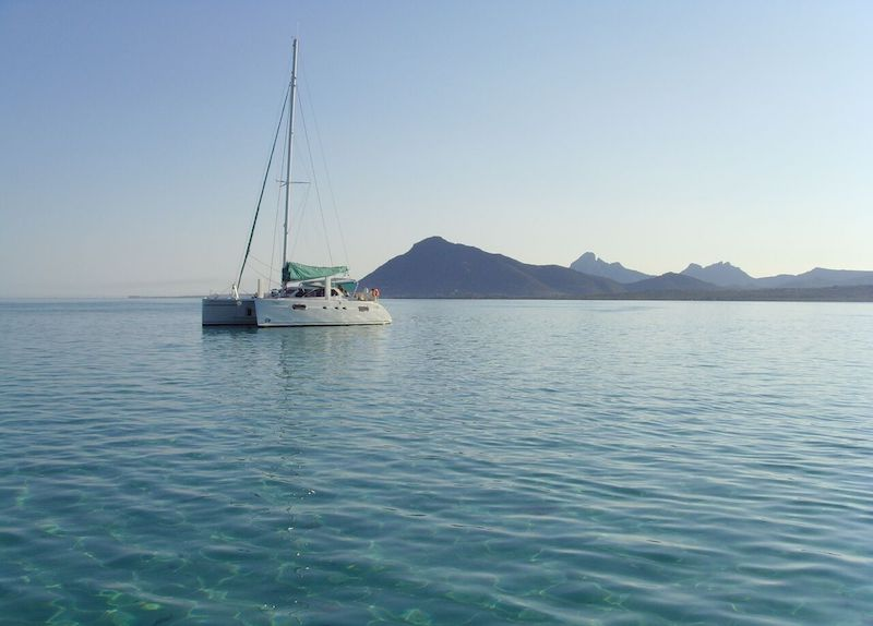 Catamaran cruise in Mauritius . Live on board holiday. explore Mauritius