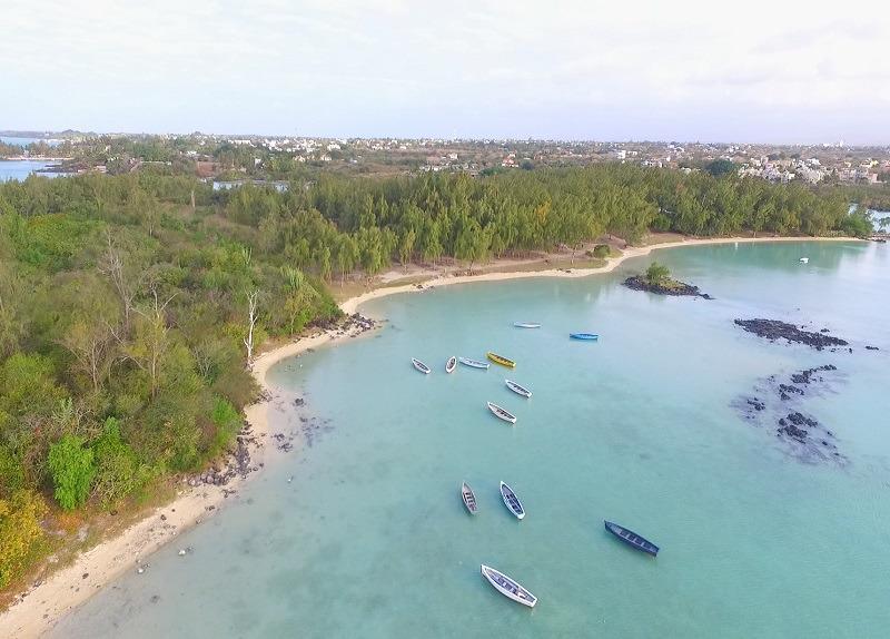 Butte a lherbe in Mauritius