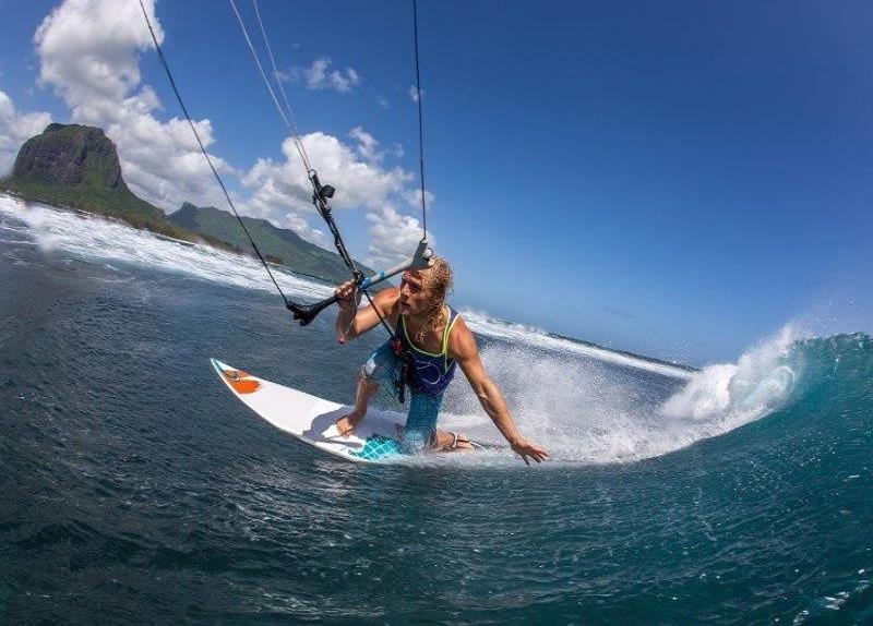 Kitesurfing in Mauritius. Photo kitesurf mauritius. Best spots in mauritius