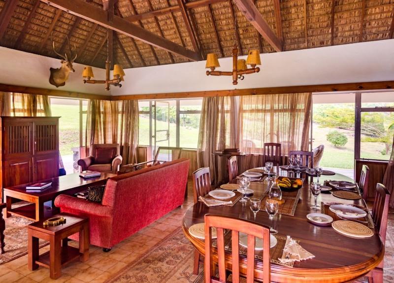 Le Petit Morne Villa in Mauritius - Main Room