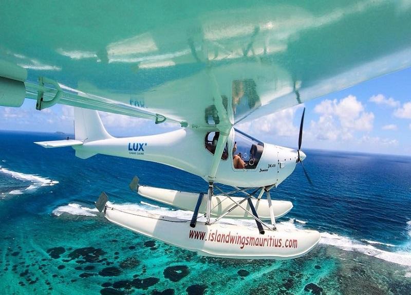 Seaplane in Mauritius