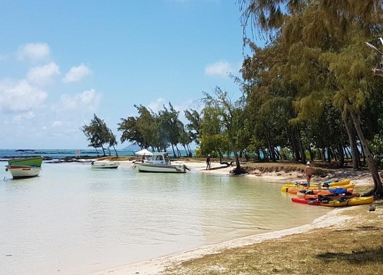 Ile d'ambre in Mauritius