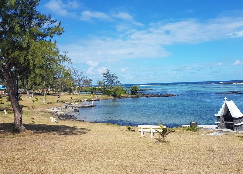 Le Bouchon beach in Mauritius