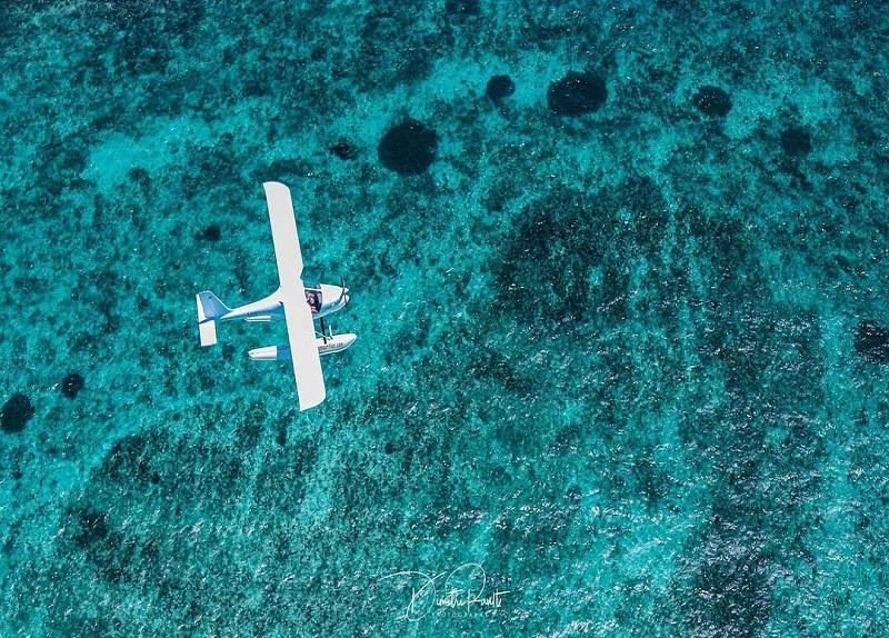 seaplane tours in Mauritius. Best activity