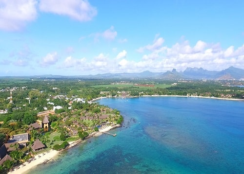 Baie aux tortues or Turtle bay in Mauritius Turtle Bay In Mauritius