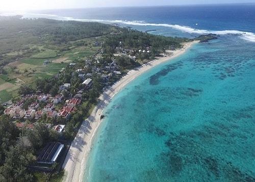 Trou d'eau douce beach in Mauritius