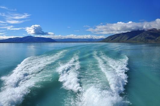 On sea water