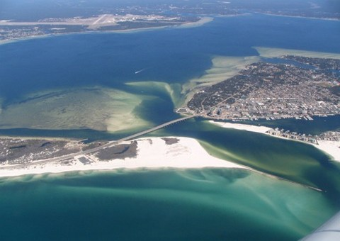 The top beaches of Florida, the sunshine state