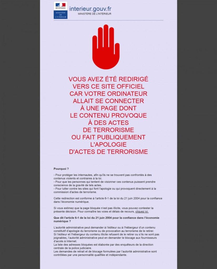 In Francia vi può capitare  questo   segnale che non vi lascia accedere.