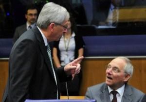 Schäuble forse ci libera anche di Juncker