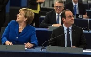 Merkel col suo vice-cancelliere