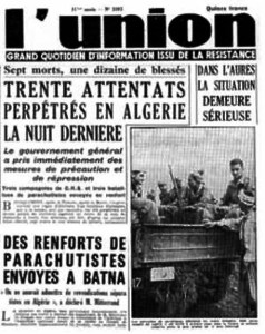 article-journal-1-novembre-1954