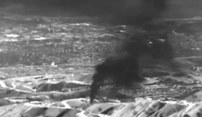 L'uscita di metano in California