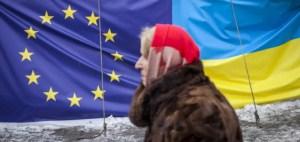 Profuga ucraina, europeista