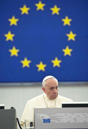 Il Pontefice della UE