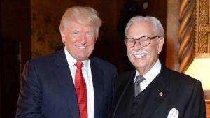 Trump col suo maggiordomo